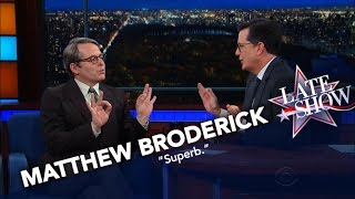 Matthew Broderick Nails His Donald Trump Impression