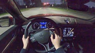 [WR Magazine] 2020 Maserati Levante Trofeo - POV Night Drive (Binaural Audio)