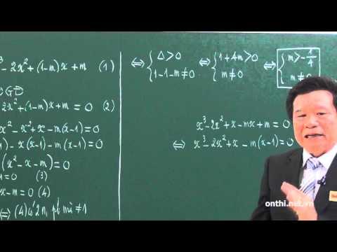 Chương 1-Bài 1-Khảo sát hàm số và các bài toán liên quan