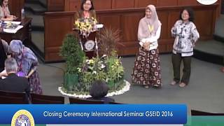 International Seminar GSEID 2016 Part 04