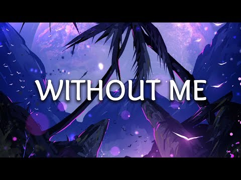 Halsey ‒ Without Me (Lyrics) (Nurko & Miles Away Remix)