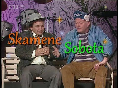 Luděk Sobota a Roman Skamene - Škodovka (dialog na lavičce)