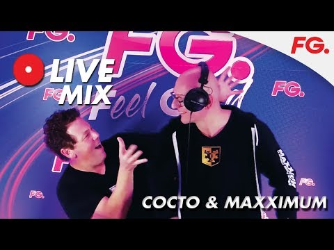 COCTO & MAXXIMUM | INTERVIEW & MIX LIVE | HAPPY HOUR | RADIO FG
