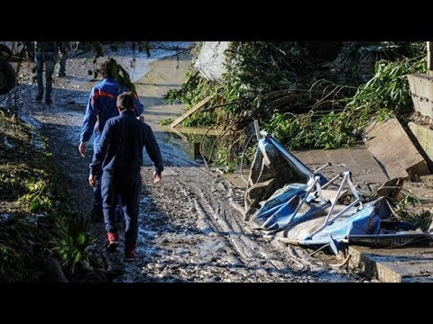 Three children killed in Sicily floods