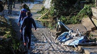 Three children killed in Sicily floods