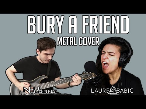 Billie Eilish | Bury A Friend | METAL COVER