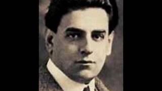 """Tito Schipa The Duke's aria from Rigoletto """"La donna è mobile"""" 1918"""