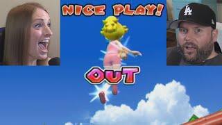 MY GIRLFRIEND ROBBED MY HOME RUN! | Mario Super Sluggers #4