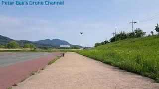 #18 Racing drone acro mode practice 레이싱 드론 아크로 모드 비행연습