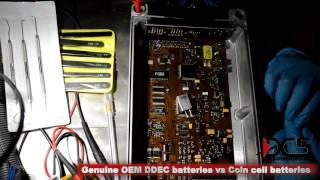 The ECM Lab - OEM Detroit Diesel DDEC IV ECM internal batteries vs Coin cell batteries