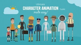 Ultimate Character Animation Toolkit ( After Effects Template ) ★ AE Templates