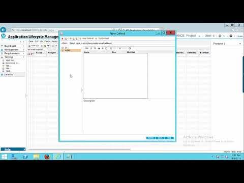 HP ALM - Defect Management