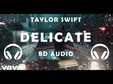 Taylor Swift - Delicate | 8D Audio [ USE HEADPHONES 🎧] || Dawn of Music ||