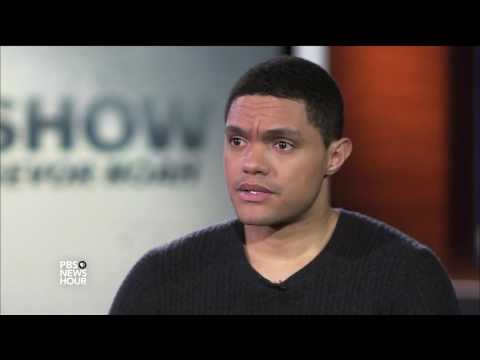 'Daily Show' host Trevor Noah turns an outside perspective into funny observation