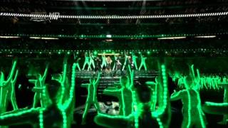 Black Eyed Peas In The Super Bowl 2011 HD + 3D