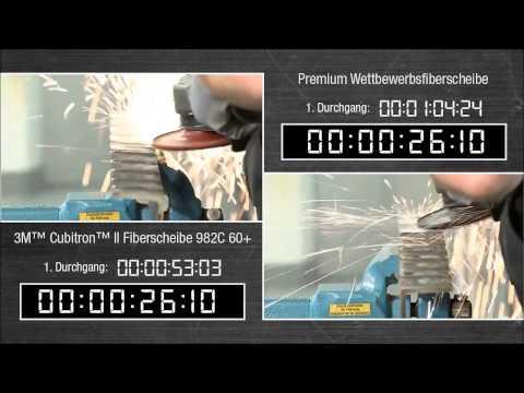 Fiberscheiben im Vergleich - 3M™ Cubitron™ II