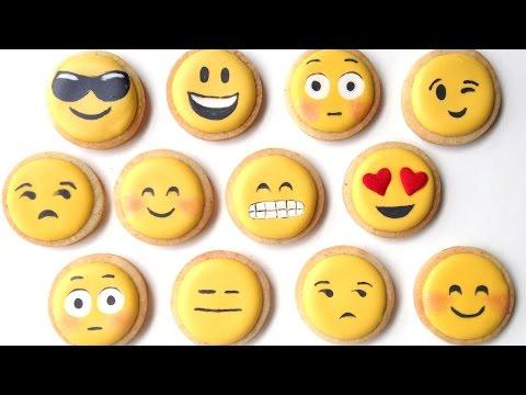 Emojili Kurabiye Yapımı