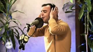 "Future Islands performing ""Seasons (Waiting On You)"" Live on KCRW"