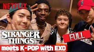 기묘한 이야기 3 | 기묘한 케이팝 with EXO - Stranger Things meets K-POP with EXO -  FULL | Netflix