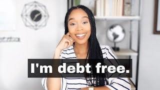 How I Became Debt Free At 25 (WITHOUT Using My Own Money) 😱