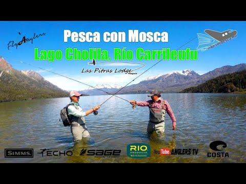 PESCA CON MOSCA, Lago Cholila, Rio Carrileufu, PATAGONIA Vol.2
