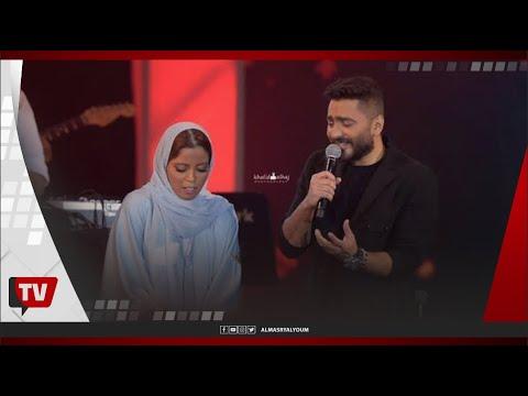 عازفة سعودية أشعلت حفلة تامر حسني بجدة.. من هي؟