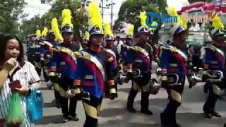 Ratusan Warga Sumut Ikuti Karnaval Rayakan HUT ke-73 Republik Indonesia