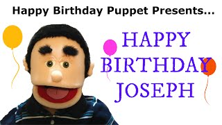 Happy Birthday Joseph - Funny Birthday Song