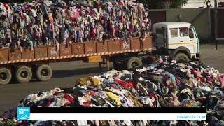 إعادة تدوير الملابس البالية صناعة مربحة في الهند!!