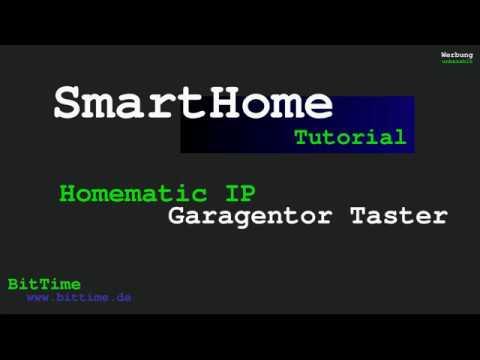 Homematic IP Garagentor Aktor/Taster  Aufbau Bausatz