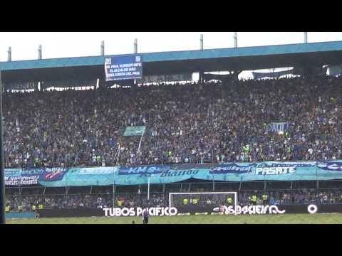 """Boca del Pozo - Tú eres mi hermano del alma (EMELEC 3 - Macará 0)"" Barra: Boca del Pozo • Club: Emelec"