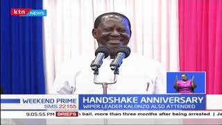 Raila Odinga joins other leaders in commemorating the Handshake