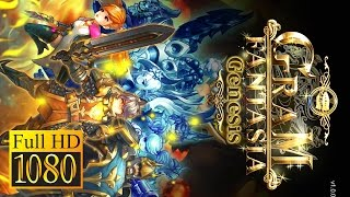 Gramfantasia Genesis Game Review 1080P Official Gravity Role Playing 2016