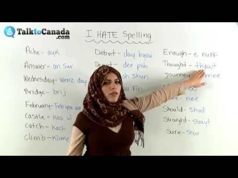 Learn Why Most English As a Second Language Learners Hate Spelling