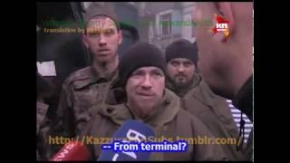 eng subs Givi & Motorola talk to captive UAF colonel