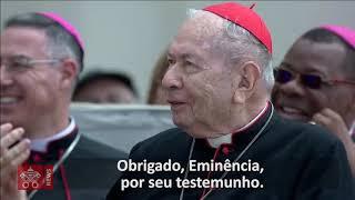 Papa Francisco parabeniza o Cardeal Falcão!