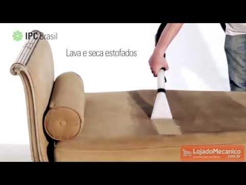 Extrator e Aspirador de Pó e Liquido 35 Litros 1200W  - Video