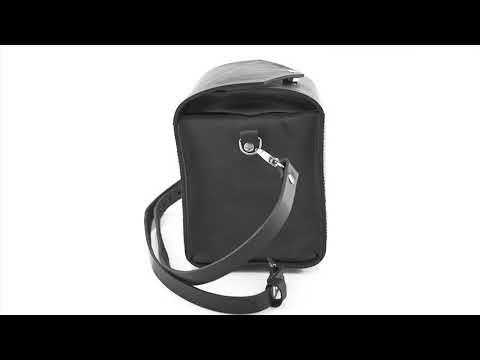 Leather bag KUBAS