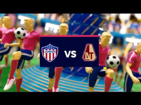 Junior vs Tolima (Goles y highlights) Liga Aguila 2019-II | Cuadrangulares fecha 1