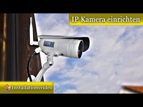 IP Kamera einrichten ausführlich erklärt / upCam Tornado HD PRO