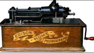 Thomas Edison - Phonograph