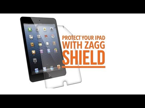 How to protect your ipad with zagg invisible shield