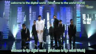 [HD/Live] Se7en (ft. T.O.P) - DigiTal Bounce [Engsub+Romani]