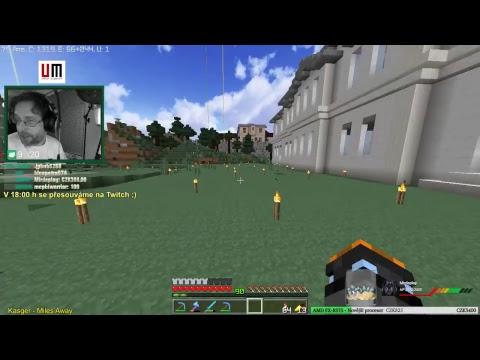 Undermine | Po hodině se přesouváme na Twitch ;) | Minecraft CZ/SK