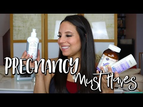 3RD TRIMESTER PREGNANCY FAVORITES | EARTH MAMA, GARDEN OF LIFE, & MORE