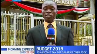 What's in the Kenya's 2018/19 Sh 3 Trillion Briefcase