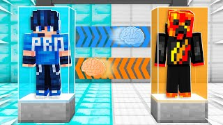 I Transformed into the Most Annoying Player in Minecraft! (Brain Swap Challenge)