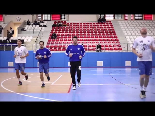 Selka Spor Maç Öncesi Hazırlık
