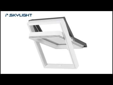 SkyLight PREMIUM Kunststoff Dachfenster | baubaY.de