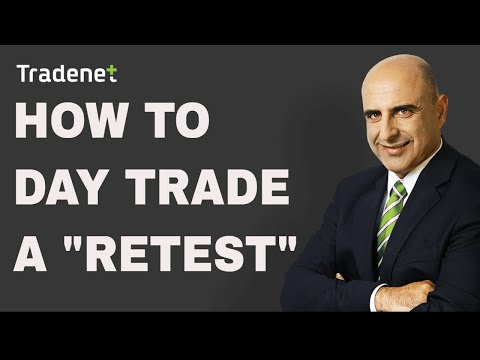 """Day Trading a """"Retest"""" – learn how!"""